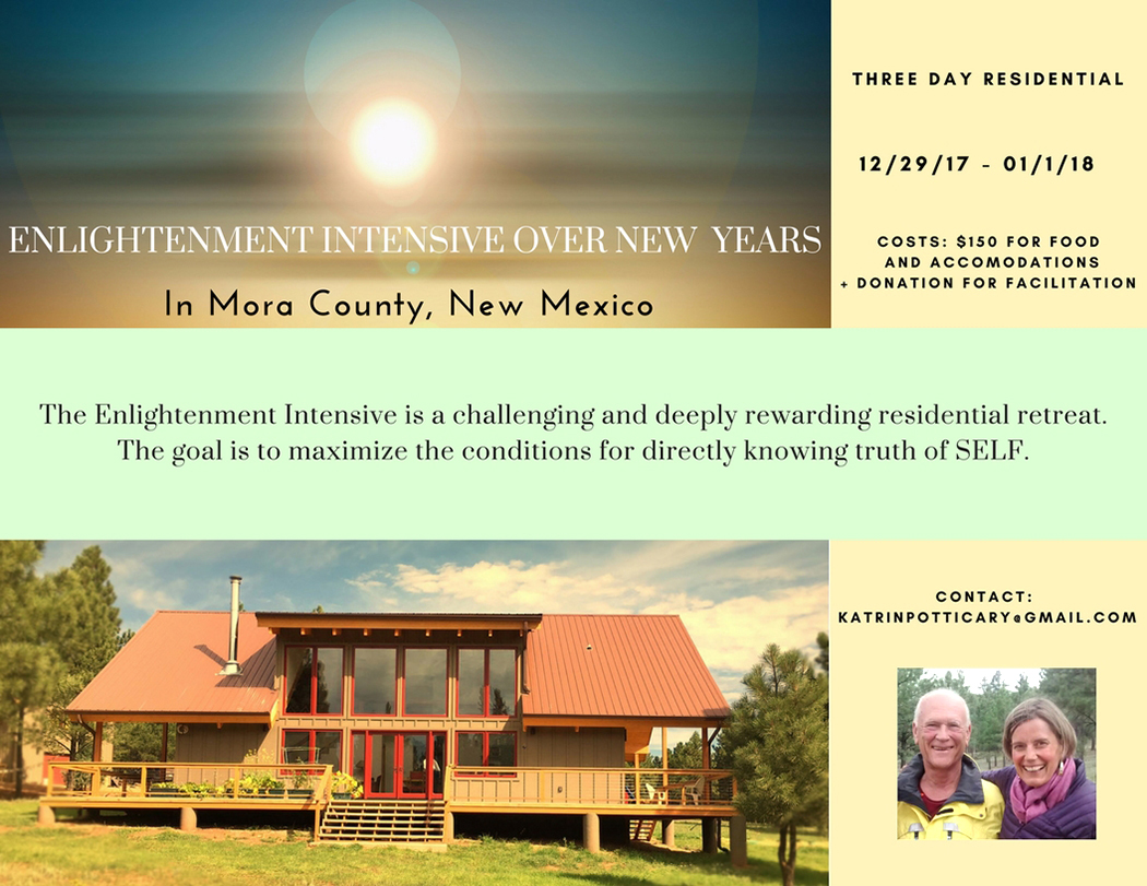 Enlightenment Intensive with Kate and Jack Potticary